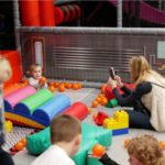 Xtreme Tots is suitable for toddlers between walking age and 5, along with any parents or guardians. To keep the session safe and enjoyable we require at least 1 adult to be participating and actively supervising up to 3 toddlers. Our court monitors will also be stationed around the park as usual.