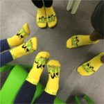 Everyone jumping needs special grip socks which can be purchased for £2.00, but once you have purchased them they are yours to keep!